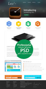 Website Design Templates Leo Website Design Template PSD At DownloadFreePSD 23