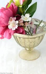 gold compote vase aluminum metal urn fl