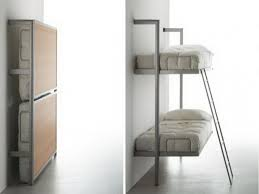 wall mounted bunk beds | Stylish Wall Mounted Bunk Beds