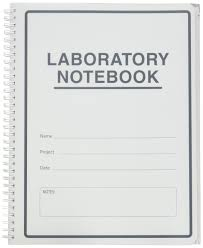 Lab Notebook Format Bookfactory Carbonless Lab Notebook Scientific Grid Format 50 Sets Of Pages