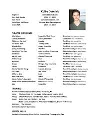 Headshot And Resume