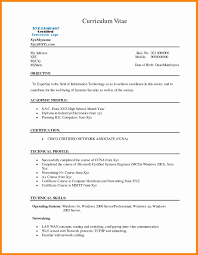 Sample Resume Format For Mechanical Engineering Freshers Filetype