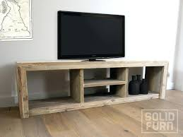 custom tv stands. Custom Tv Stands Wood Tone Made Aged Pinewood Reclaimed Look Stand For . A