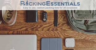 Packing Lists Ultimate Packing List & Travel Checklist - Packing Essentials