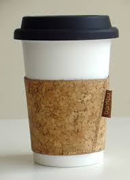 Soft Cork Coffee Sleeve U0026 Washable Paper Coffee Cup With Lid (melamine W/  Silicone Lid)