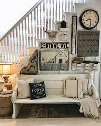 Best 25+ Farmhouse style decorating ideas on Pinterest   Farmhouse style,  Half bathroom decor and Bath decor