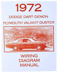 mopar a body duster parts literature multimedia literature 1972 mopar a body wiring diagram manual