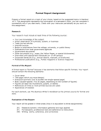 10 2 Formal Report Assignment
