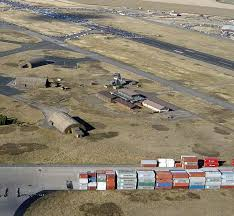 photo page oblique aerial photo showing the uni seco control tower three tab vees 2005 note the dark tarmac y shaped aprons in front of the tab vees which are the