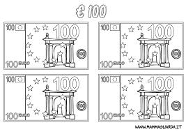 Immagini Soldi Da Colorare Soldi Euro Da Colorare