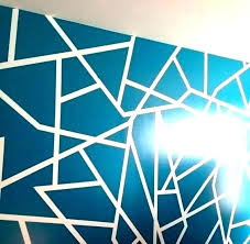 Paint Patterns Beauteous Wall Paint Design Paint Patterns With Tape Tape Painting Ideas Tape