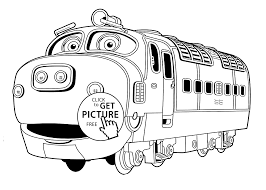Small Picture Chuggington coloring pages Brewster for kids printable free