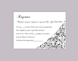 wedding rsvp postcards templates rsvp template word noshot info