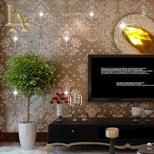european damask diamond wallpaper 3d stereoscopic modern luxury
