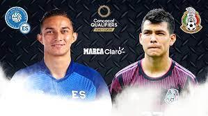 El Salvador vs México ...