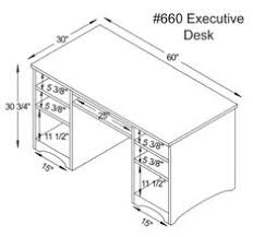 office desk size. Office Desk Size. Fine Image Result For Executive Table Dimension Intended Size