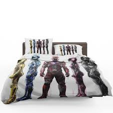 power rangers 5 bed in a bag set