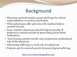 physician assisted suicide  2 background  physician assisted suicide