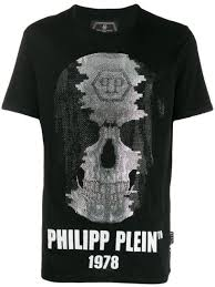 Philipp Plein <b>Футболка С Круглым</b> Вырезом -40%- Купить В ...