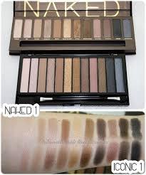 urban decay 1 palette 50 vs makeup revolution iconic 1 5 99