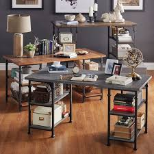the best office desk. tribecca home myra vintage industrial modern rustic storage desk overstockcom shopping the best office e