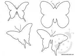 Sagome Farfalle Da Stampare Lavoretti Creativi