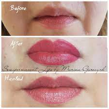 semi permanent lips aquarelle lips