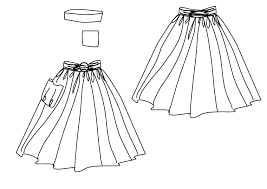 Sewing Patterns For Dresses Beauteous Gathered Skirt PDF Sewing Pattern By Angela Kane