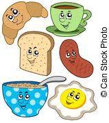 Znalezione obrazy dla zapytania zdrowe śniadanie rysunek