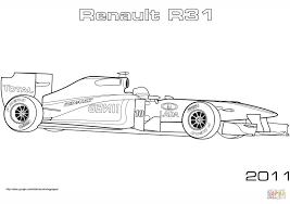 Kleurplaat Formule 1 Red Bull