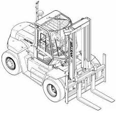 best images about hyster instructions manuals original illustrated factory workshop service manual for hyster diesel lpg forklift truck f007 series