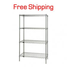 wire shelving unit 48 x 18 x 54