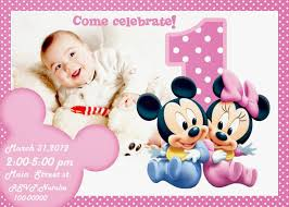 minnie mouse invitation template birthday invitation cards for baby boy free oxyline boys party