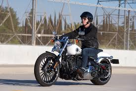 2017 harley davidson softail breakout review go straight young man
