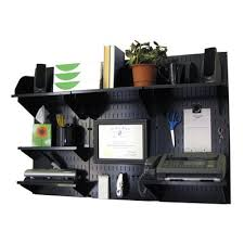 wall mounted office organizer system. Wall Control 10-OFC-300 Mounted Office Desk Storage And Organization Kit Organizer System