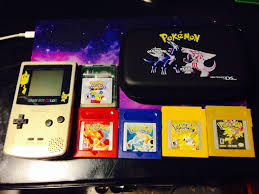 Game Boy Color - Pokemon Pikachu & Pika model and some other of my  collection of Pokemon games I could find, stay tuned for the other posts! :  Gameboy