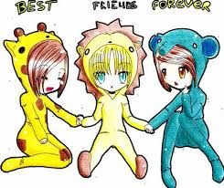 3 best friends wallpaper posted by