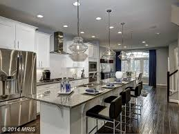 White Transitional Kitchens Kitchen With Kitchen Island Stone Tile In Annapolis Md Zillow