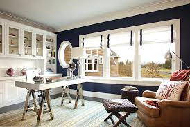 chic home office design home office. full image for beach themed office ideas view in gallery dark blue walls bring chic elegance home design