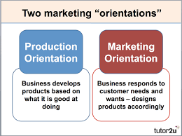 customer orientation examples marketing orientation tutor2u business