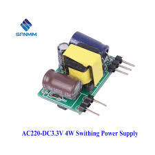 <b>SANMIN AC DC 220</b> to 3.3V 1.2A Small Volume Isolated Switching ...