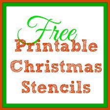 Free Printable Christmas Stencils Christmas Tree Templates Santa
