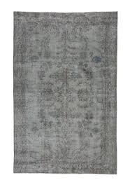 5x9 grey overdyed rugs 1911