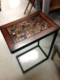 acacia wood accent table fl end sensational home design tj ma tables round tablecloth side unique