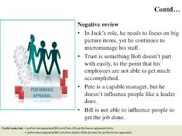 Job Performance Evaluation Form Page Review Phrases Decision Making ...