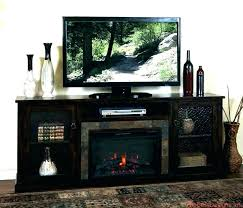 white oak electric fireplace tv stand stands with decoration corner photo a
