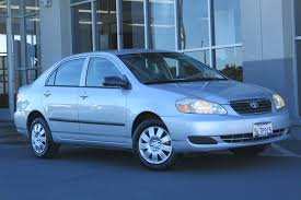 Used 2005 Toyota Corolla CE For Sale in Fairfield CA   Used Toyota ...