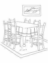 table clipart black and white. terrific dining room table clipart black and white photos - best .