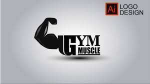 Illustrator Cc Tutorial L How To Design A Logo Of Gym Muscle L Free Learn