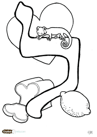 Aleph Bet Coloring Pages Coloring Pages Pic L Page For Download By